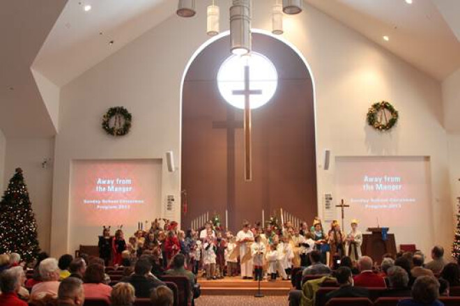 Christmas Eve Worship 3 p.m., 7 p.m., 11 p.m. (Traditional)