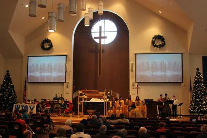 Christmas Eve Worship 5 p.m. (Contemporary)