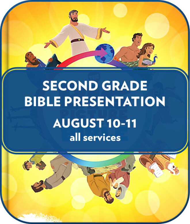 Second Grade Bible Presentation